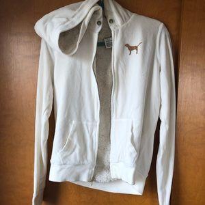 PINK sweat jacket
